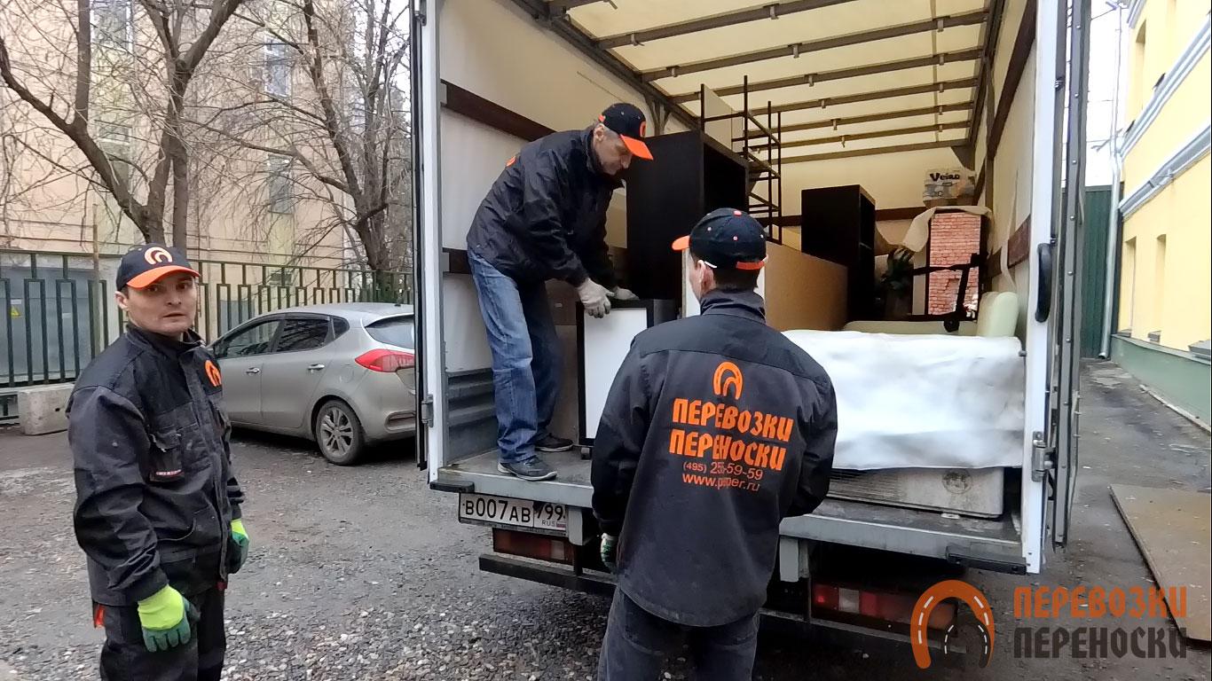 Грузоперевозка мебели на автотранспорте